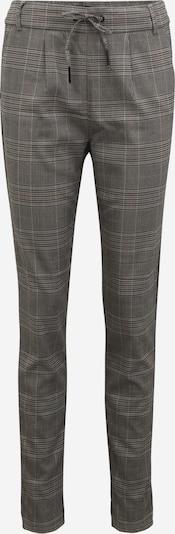 Only Tall Bandplooibroek 'POPTRASH' in de kleur Grijs / Poederroze / Zwart, Productweergave
