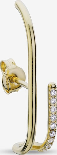 QOOQI Ohrring in gold, Produktansicht