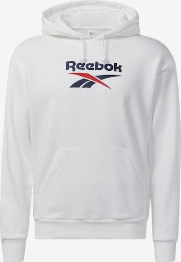 Reebok Classics Mikina 'Classics Foundation Vector' - tmavomodrá / červená / biela, Produkt