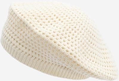 WEEKDAY Mütze 'Pim Beret' in weiß, Produktansicht
