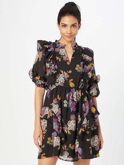 OBJECT Jurk 'Mila' in de kleur Gemengde kleuren / Zwart, Modelweergave