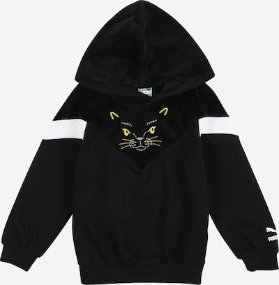 PUMA Sweatshirt 'Animals' in schwarz / weiß, Produktansicht