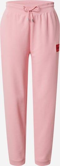 HUGO Hlače 'Dachibi' | roza / rdeča barva, Prikaz izdelka
