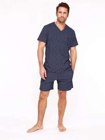 Pyjama court ' Max ' HOM en bleu