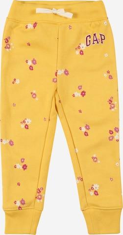 GAP Панталон в жълто