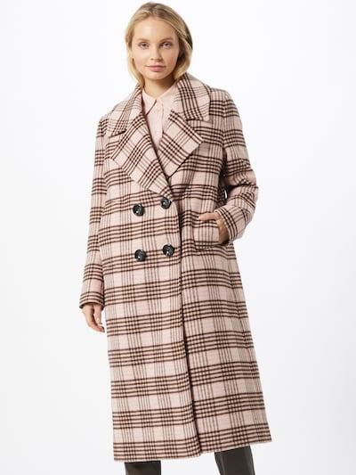 Libertine-Libertine Prechodný kabát 'Racer' - hnedá / púdrová, Model/-ka