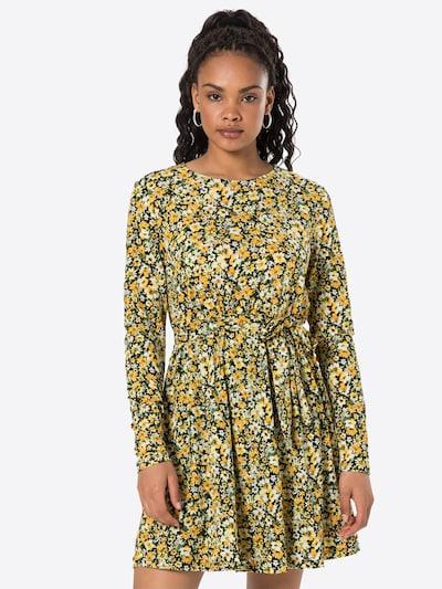 VILA Ljetna haljina 'LITIN' u žuta / svijetložuta / zelena / crna, Prikaz modela