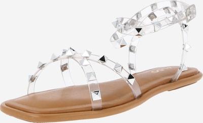 Sandale cu baretă 'RAVELIJN' ALDO pe transparent, Vizualizare produs
