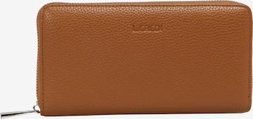 L.CREDI Brieftasche in Braun