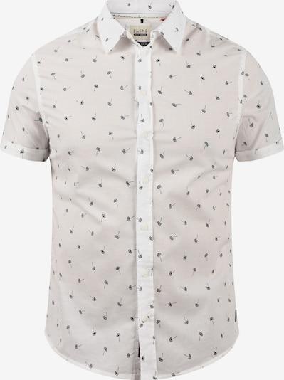 BLEND Kurzarmhemd Kurzarmhemd in weiß, Produktansicht