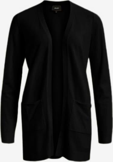 OBJECT Strickjacken 'OBJTHESS L/S CARDIGAN NOOS' in schwarz, Produktansicht