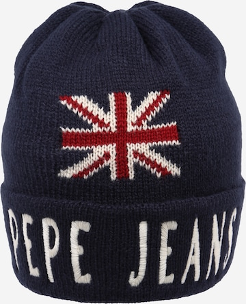 Pepe Jeans Beanie 'Lucas' in Blue