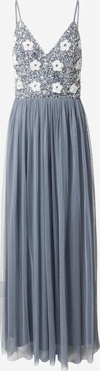 LACE & BEADS Avondjurk 'Avon' in de kleur Navy / Wit, Productweergave