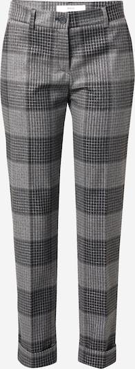 BRAX Pantalon à plis en gris argenté / gris foncé, Vue avec produit