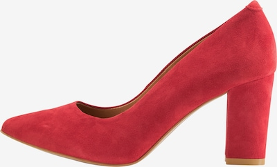 Usha Pumps in rot, Produktansicht