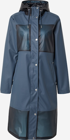 ILSE JACOBSEN Between-seasons coat in Night blue / Sky blue, Item view