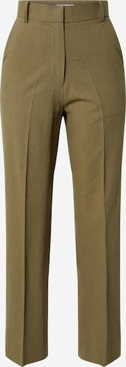 EDITED Trousers with creases 'Leona' in Olive, Item view