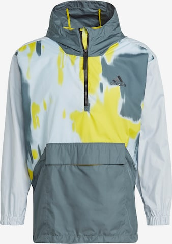 ADIDAS PERFORMANCE Sportjacka 'Back to Sport WIND.RDY' i blå
