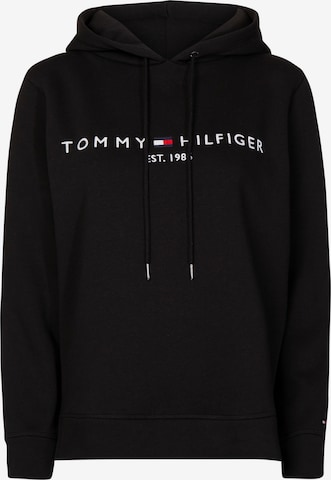 TOMMY HILFIGER Sweatshirt in Schwarz