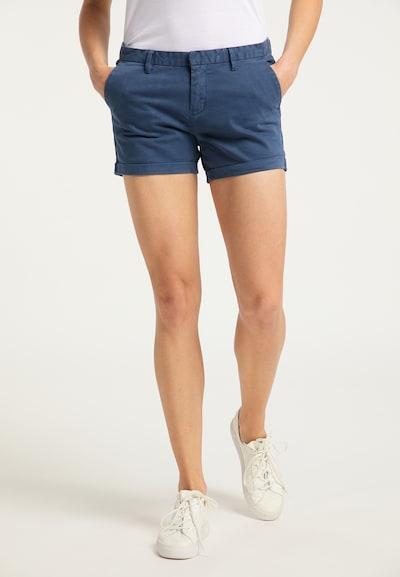 DreiMaster Vintage Shorts in taubenblau, Modelansicht