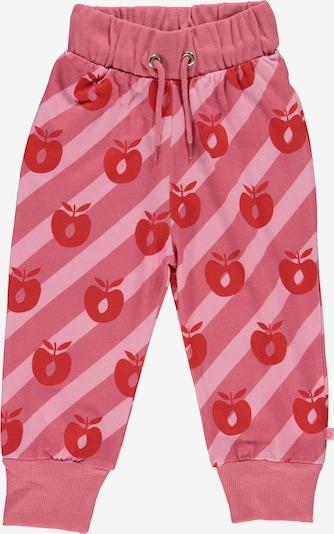Småfolk Hose 'Apple' in pink / dunkelpink / rot, Produktansicht