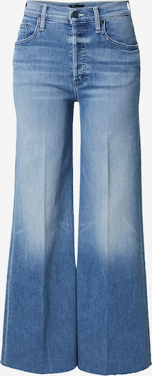 MOTHER Jean 'THE TOMCAT ROLLER FRAY' en bleu denim, Vue avec produit