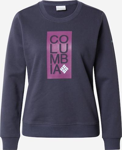 COLUMBIA Športová mikina - tmavomodrá / eozín / biela, Produkt