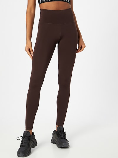 Athlecia Workout Pants 'FRANZ' in Brown, View model