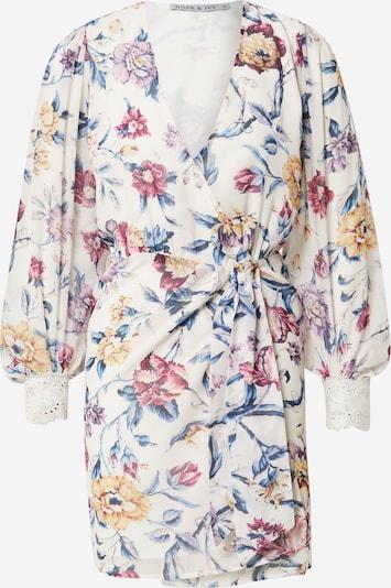 Hope & Ivy Kleid 'THE PATSY' in beige / mischfarben, Produktansicht