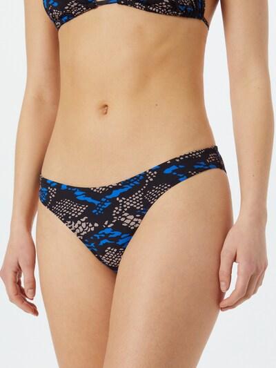 Calvin Klein Swimwear Braga de bikini en azul / taupe / negro, Vista del modelo