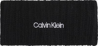Calvin Klein Stirnband in schwarz / weiß, Produktansicht