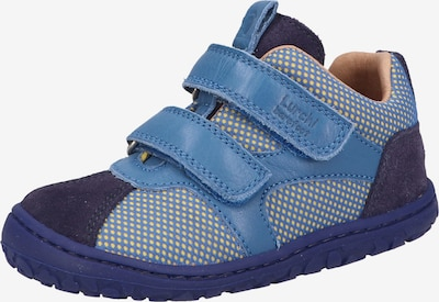 LURCHI Sneaker in blau / gelb / lila, Produktansicht