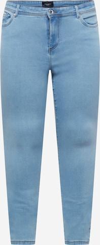 Vero Moda Curve Teksapüksid 'TANYA', värv sinine