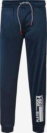 VERTBAUDET Jogginghose in blau / dunkelblau / weiß, Produktansicht