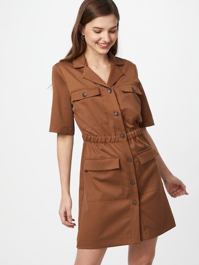 Aligne Košeľové šaty 'Caledonia' - svetlohnedá, Model/-ka