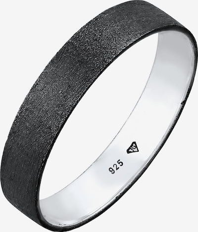 KUZZOI Ring Bandring in schwarz, Produktansicht
