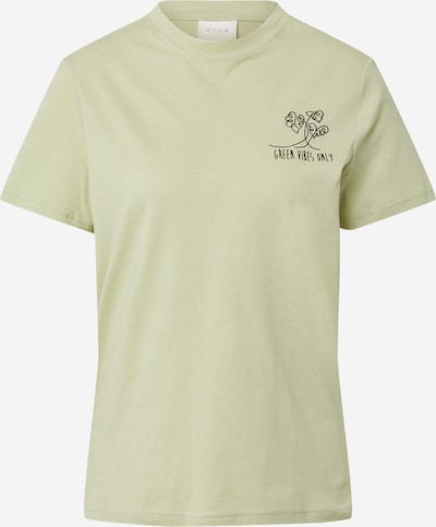 VILA Shirt 'PURE' in mint / schwarz, Produktansicht