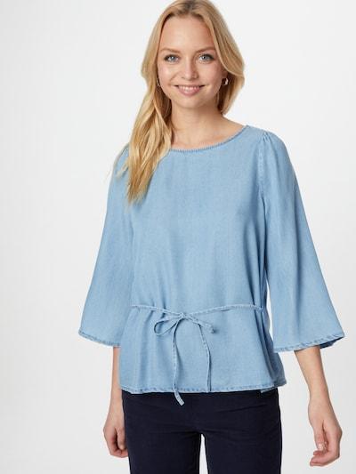 VERO MODA Blouse 'VIVIANA' in de kleur Lichtblauw, Modelweergave