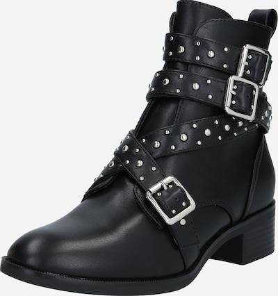 ONLY Enkellaarsjes in de kleur Zwart / Zilver, Productweergave