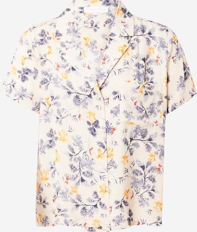 Designers Society Bluza u bež / tamno plava / narančasta / svijetlocrvena, Pregled proizvoda