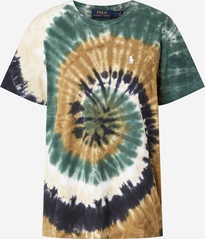 POLO RALPH LAUREN Koszulka w kolorze beżowy / indygo / brązowy / ciemnozielony / białym, Podgląd produktu