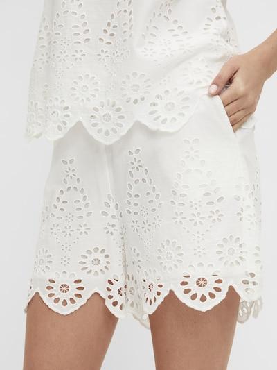 OBJECT Shorts 'OBJLINI 114' in weiß, Modelansicht