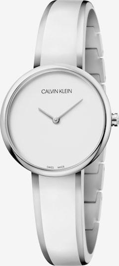 Calvin Klein Uhr in grau / silbergrau / weiß, Produktansicht