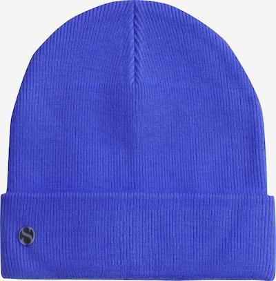 SAMAYA Strickmütze 'SENJA' in blau, Produktansicht