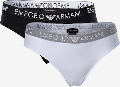 Emporio Armani Slip in de kleur Grijs / Zwart / Wit, Productweergave