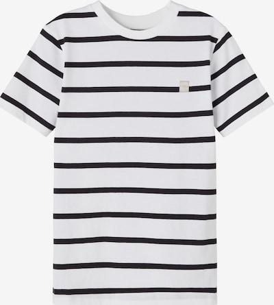 LMTD T-Shirt 'DRIPE' en noir / blanc, Vue avec produit