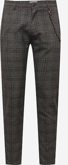 !Solid Chino in de kleur Rookgrijs / Zwart / Wit, Productweergave