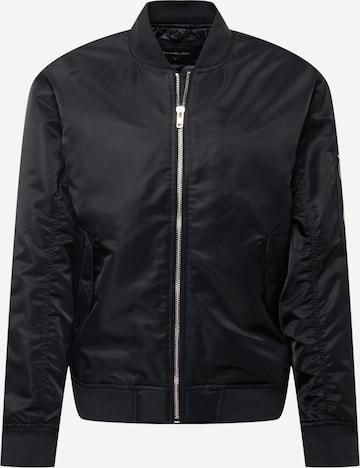 Abercrombie & Fitch Overgangsjakke i svart