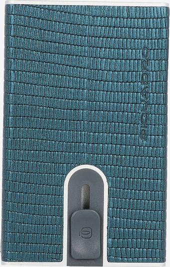 Piquadro Kreditkartenetui in blau / türkis, Produktansicht
