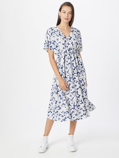 Gina Tricot Dress 'Madison' in Blue / White, View model